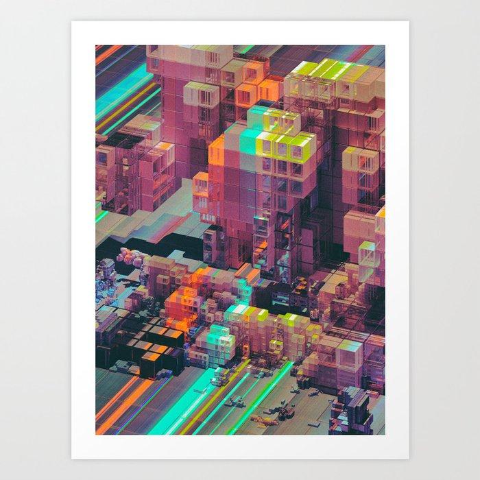 COREQUAD (everyday 09.16.16) Art Print
