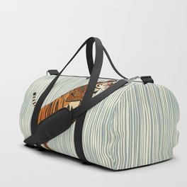 tiger stripes silver Duffle Bag