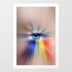 EYE AM YOU Art Print