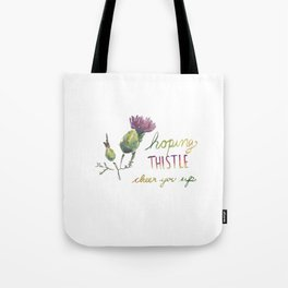 thistle be good Tote Bag
