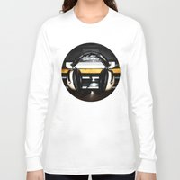 old school Long Sleeve T-shirts featuring Old School by Anand Brai