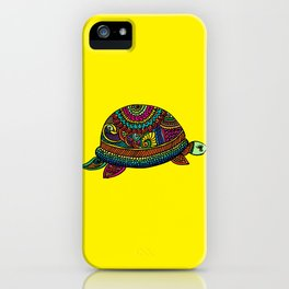Rainbow Turtle iPhone Case