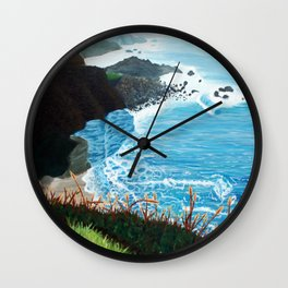 Now Entering Monterey  Wall Clock