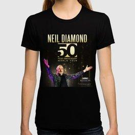NEIL DIAMOND 50TH ANNIVERSARY WORLD TOUR DATES 2019 KAMBOJA T-shirt