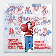 Character building v2 Canvas Print