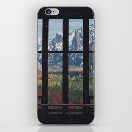 Yosemite Window iPhone Skin