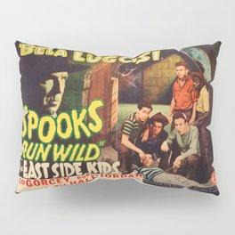 Spooks Run Wild, Bela Lugosi, vintage movie poster Pillow Sham