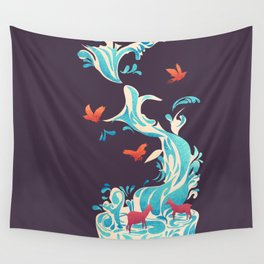 Water Of Life Wall Tapestry