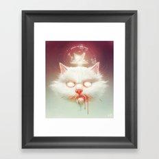 The Hell Kitty Framed Art Print