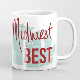 Midwest is Best Coffee Mug