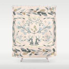 Eucalyptus square Shower Curtain