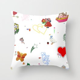 Favorites Throw Pillow