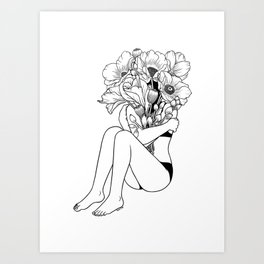 Love Myself Art Print