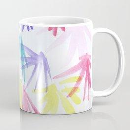 Floral Thinking Coffee Mug