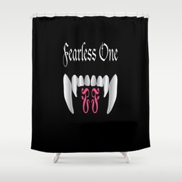 Fearless One logo Shower Curtain