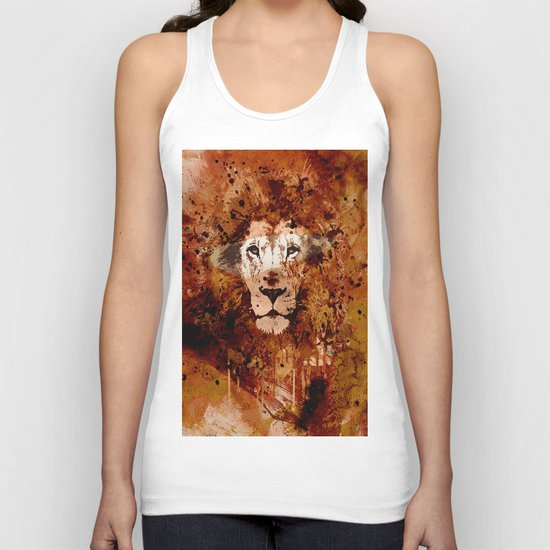 WATERCOLOR KING Unisex Tank Top