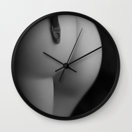 No Stockings Wall Clock