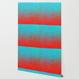 Aqua Red Wallpaper