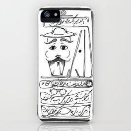 Mr. Moustache iPhone Case