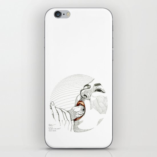 How deep is your love? iPhone & iPod Skin