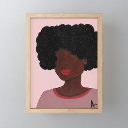 Woman of Color Framed Mini Art Print