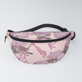 Flowers with ribbons Fanny Pack
