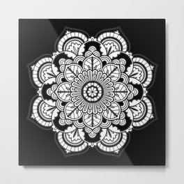 My Top Flower Metal Print