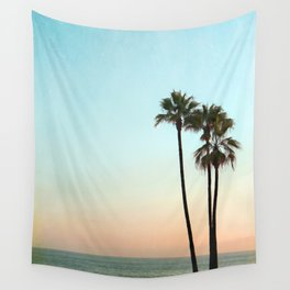 Palm Sunset Wall Tapestry