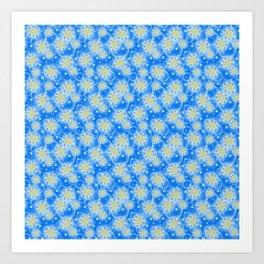 Inspirational Glitter & Bubble pattern Art Print