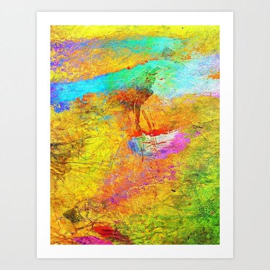 Abstract Texture 04 Art Print