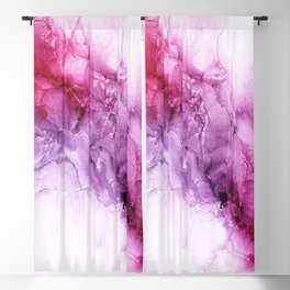 beautiful abstract art with fluid liquid paint Blackout Curtain