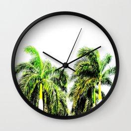 LIMON PALMS Wall Clock