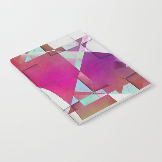 Multicolored abstract no. 64 Notebook