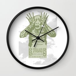 Eyeless Wall Clock
