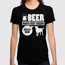 Lab Pet Dog Best Friend Quote Gift T-shirt