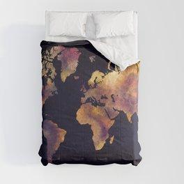 world map 64 Comforters