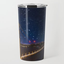 Golden Gate Bridge in the Stars Travel Mug