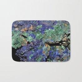 Malachite and Azurite Bath Mat