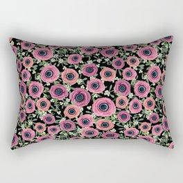 Anemone Floral 2018 by Magenta Rose Designs Rectangular Pillow