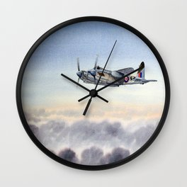 Mosquito De Havilland Aircraft Wall Clock