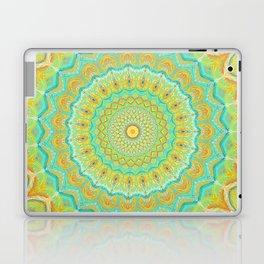 Citrus Burst - Mandala Art Laptop & iPad Skin