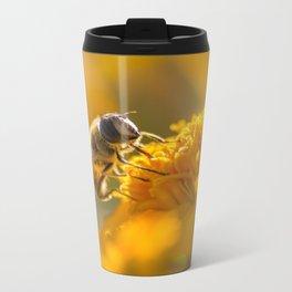 The Busy Honey Bee Metal Travel Mug