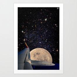 Astro-Travel Art Print