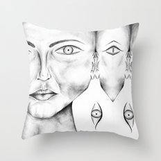 Nature of Humanity Throw Pillow