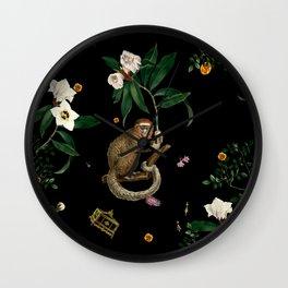 Monkey World: Amber-Ella Wall Clock