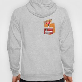 Taystee Prison Badge Fake Pocket Shirt With Candy Hoody