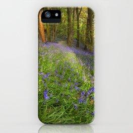 Bluebells in Ten Acre Wood iPhone Case
