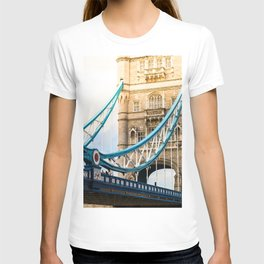 Rendezvous At Tower Bridge T-shirt