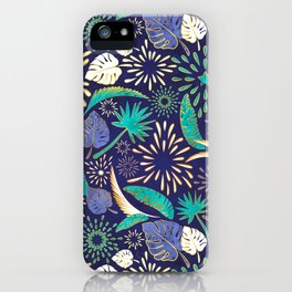 Tropical fireworks iPhone Case