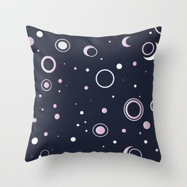 Candied Night Sky Throw Pillow